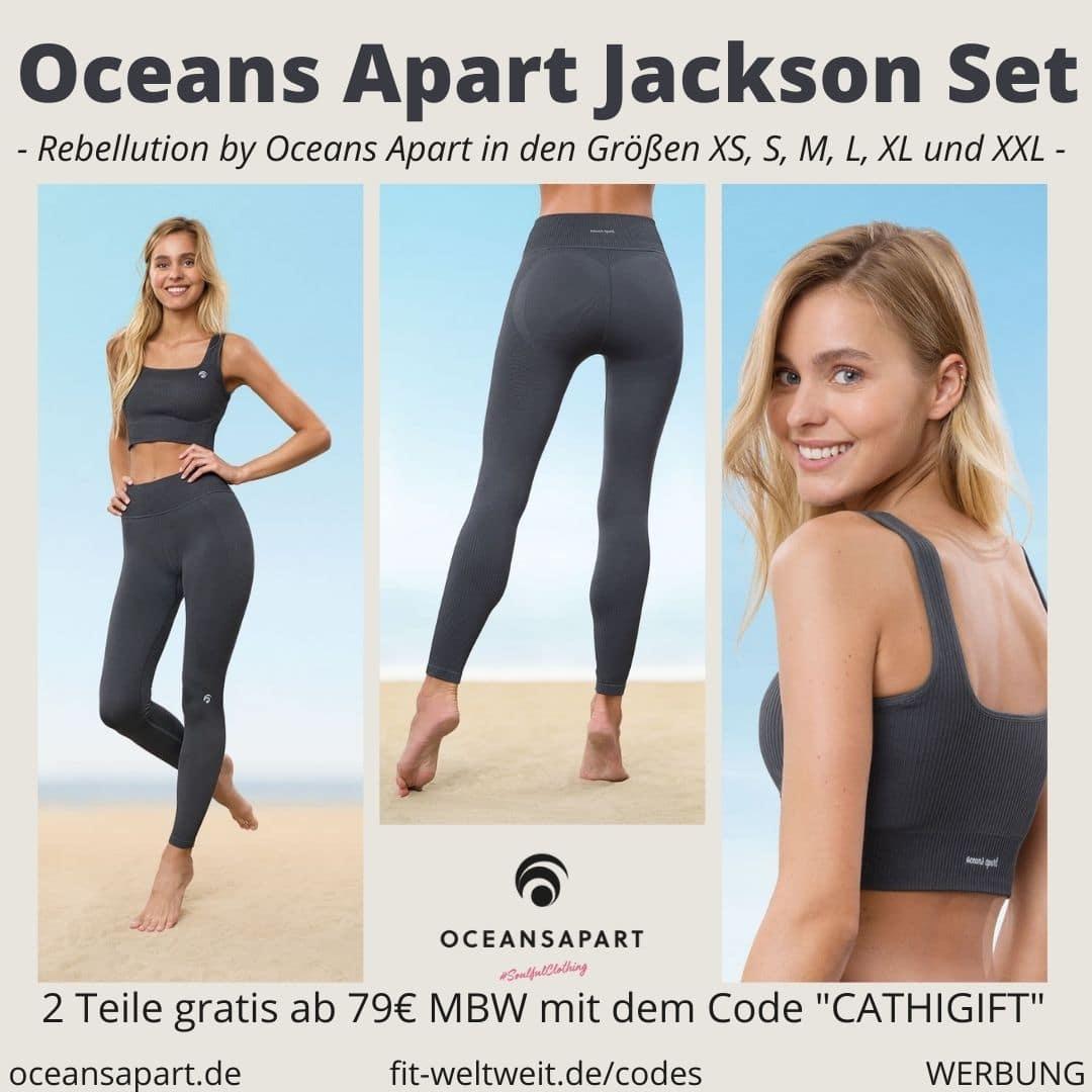 Oceans Apart JACKSON SET DELUXE ERFAHRUNG Größe pant bra rebellution collection