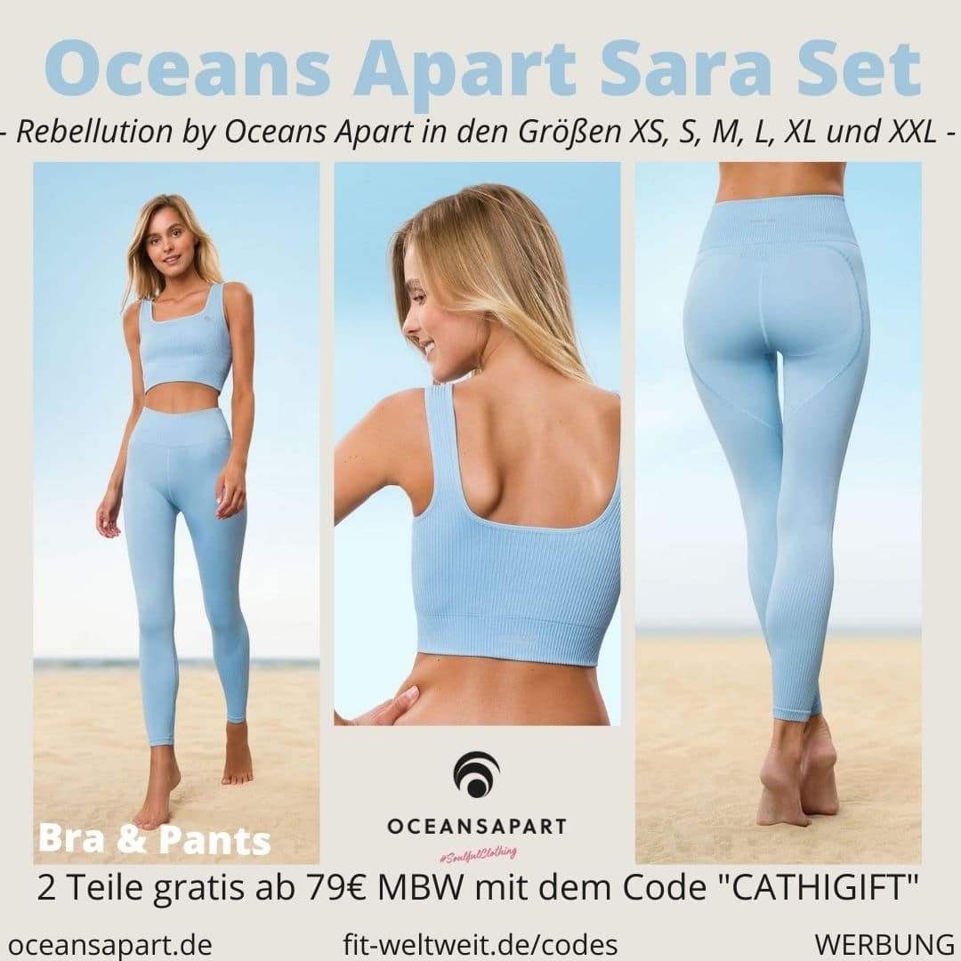 Oceans Apart SARA SET ERFAHRUNG Größe pant bra rebellution collection