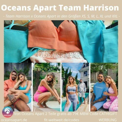 TEAM HARRISON x OCEANS APART Erfahrungen der Collection Pretty in Prints