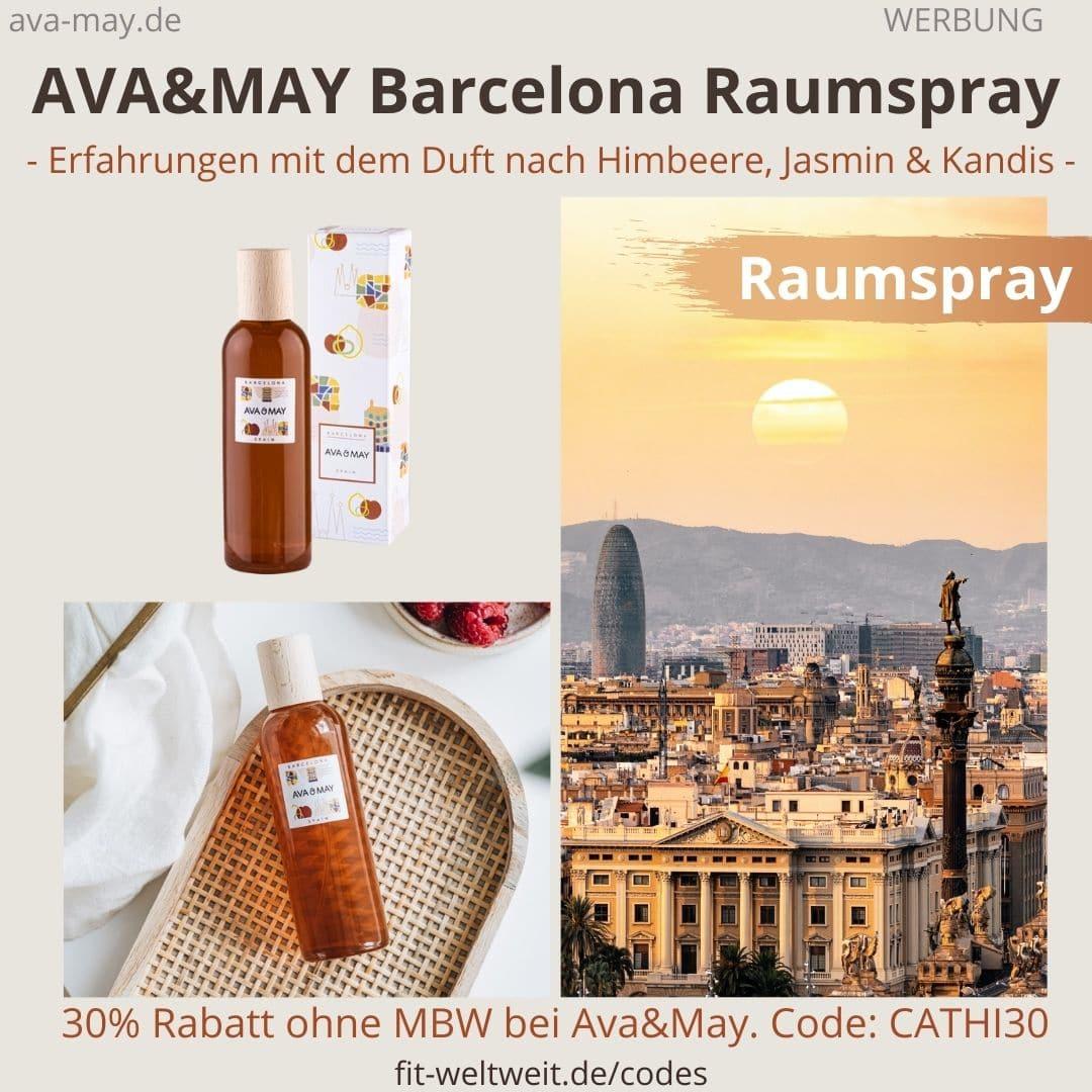 Erfahrungen AVA and MAY Barcelona 100ml Raumspray Spain