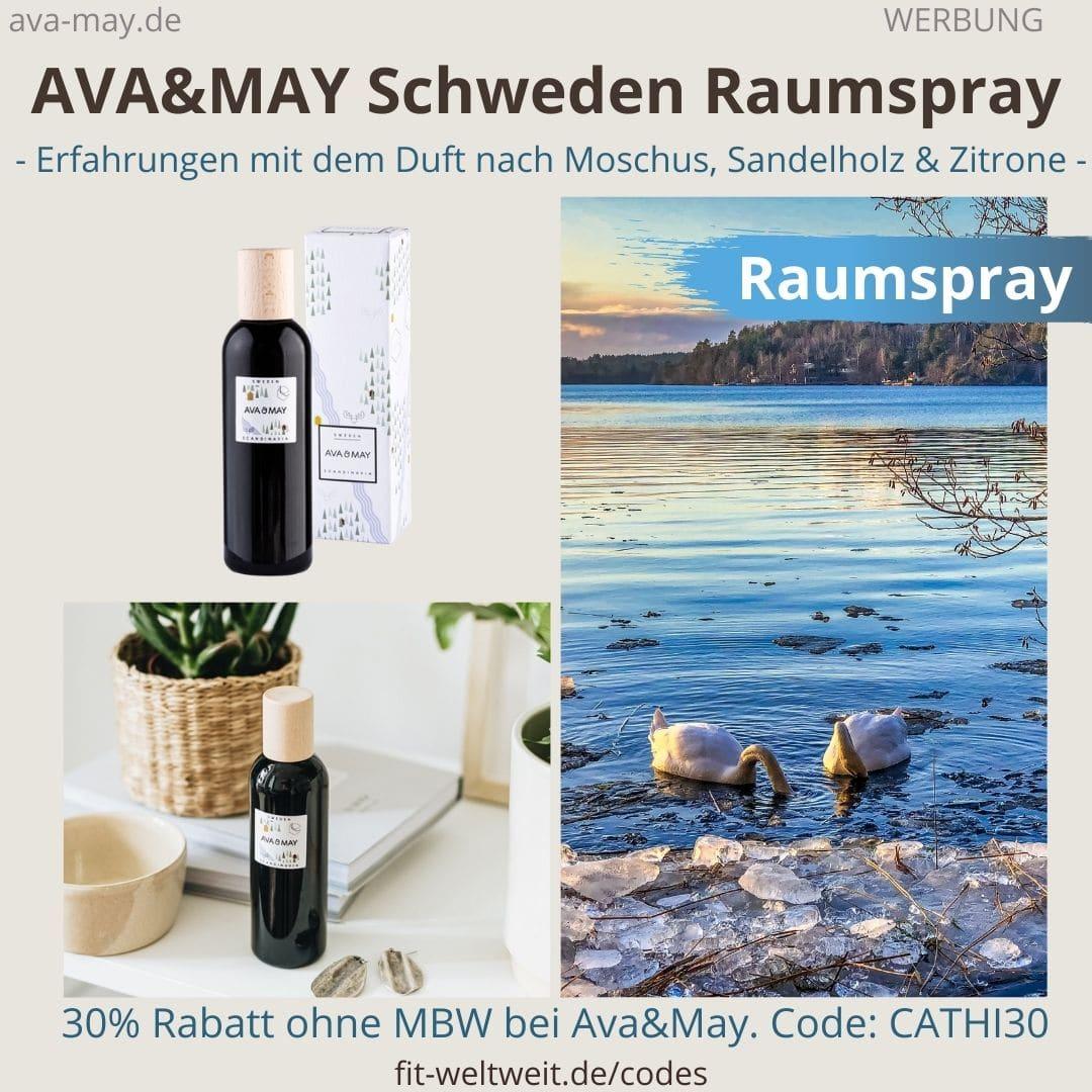 Erfahrungen AVA and MAY Schweden 100ml Raumspray Scandinavia