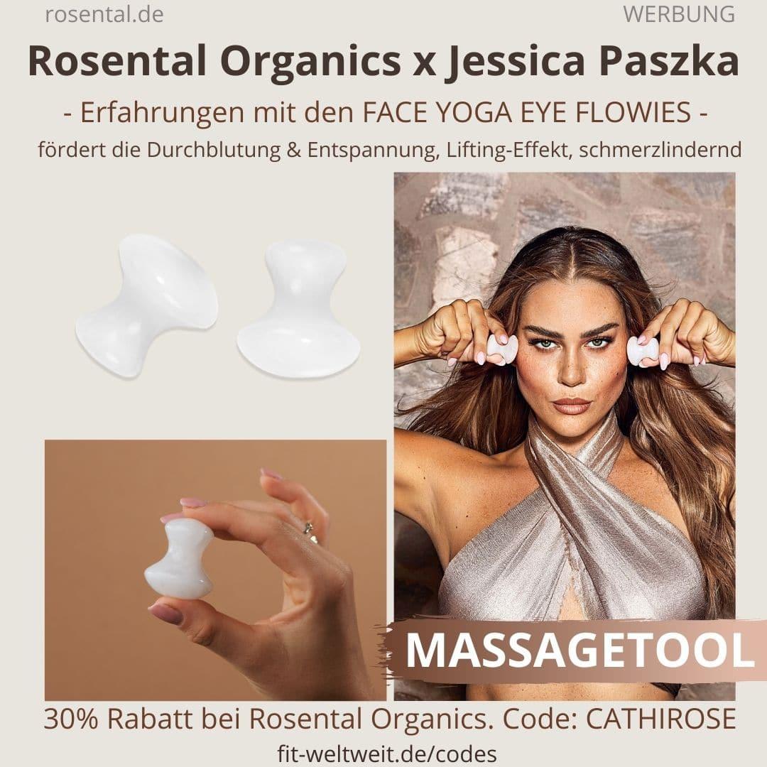 Eye Flowies Face Yoga Erfahrungen JESSICA PASZKA ROSENTAL ORGANICS CoCretaion