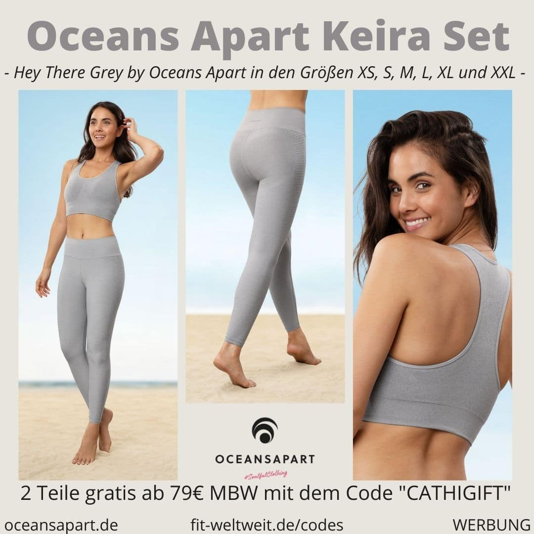 Oceans Apart KEIRA SET ERFAHRUNG Größe wave bra pant hey there grey collection