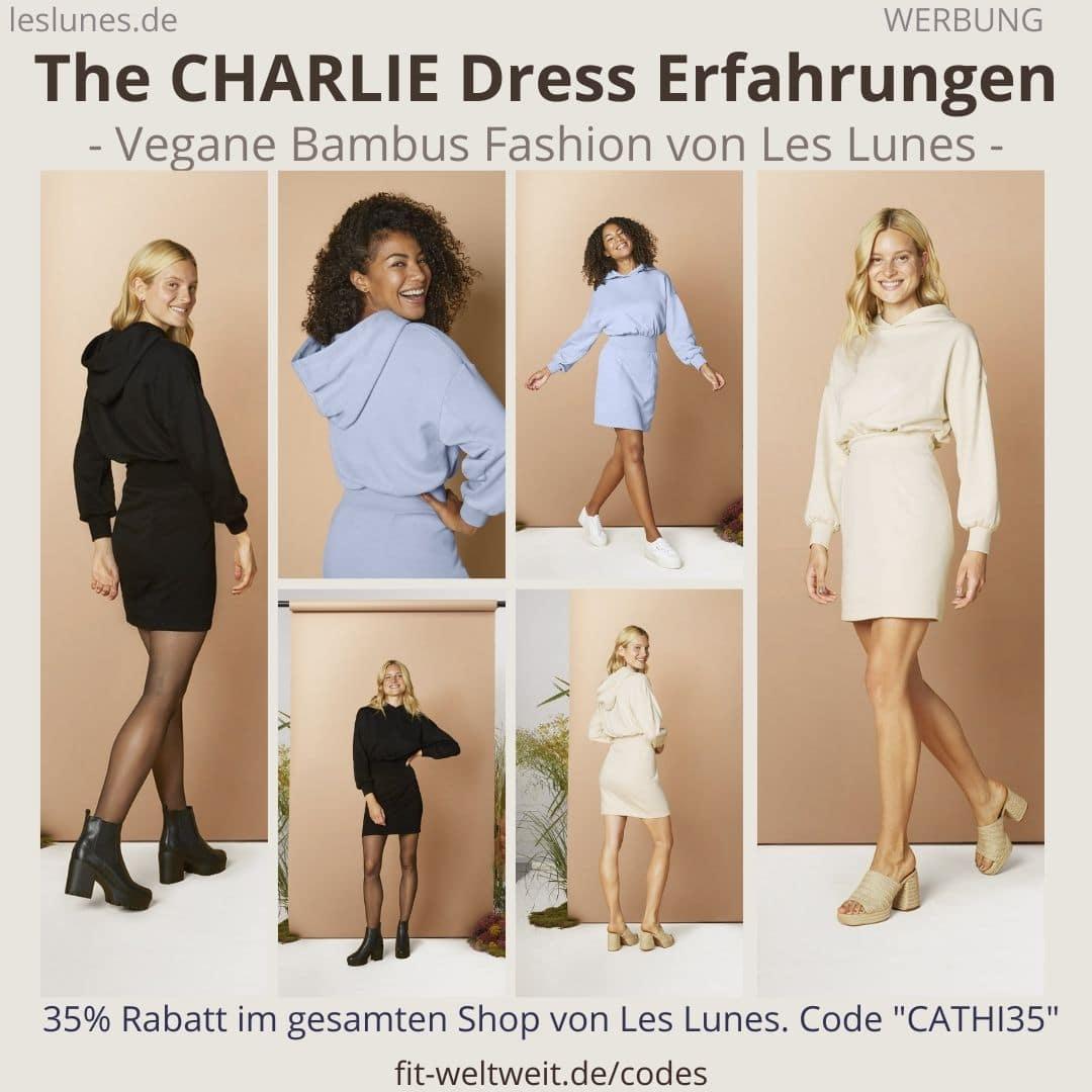 The Charlie Dress LES LUNES ERFAHRUNGEN Stoff Passform Größe Retoure