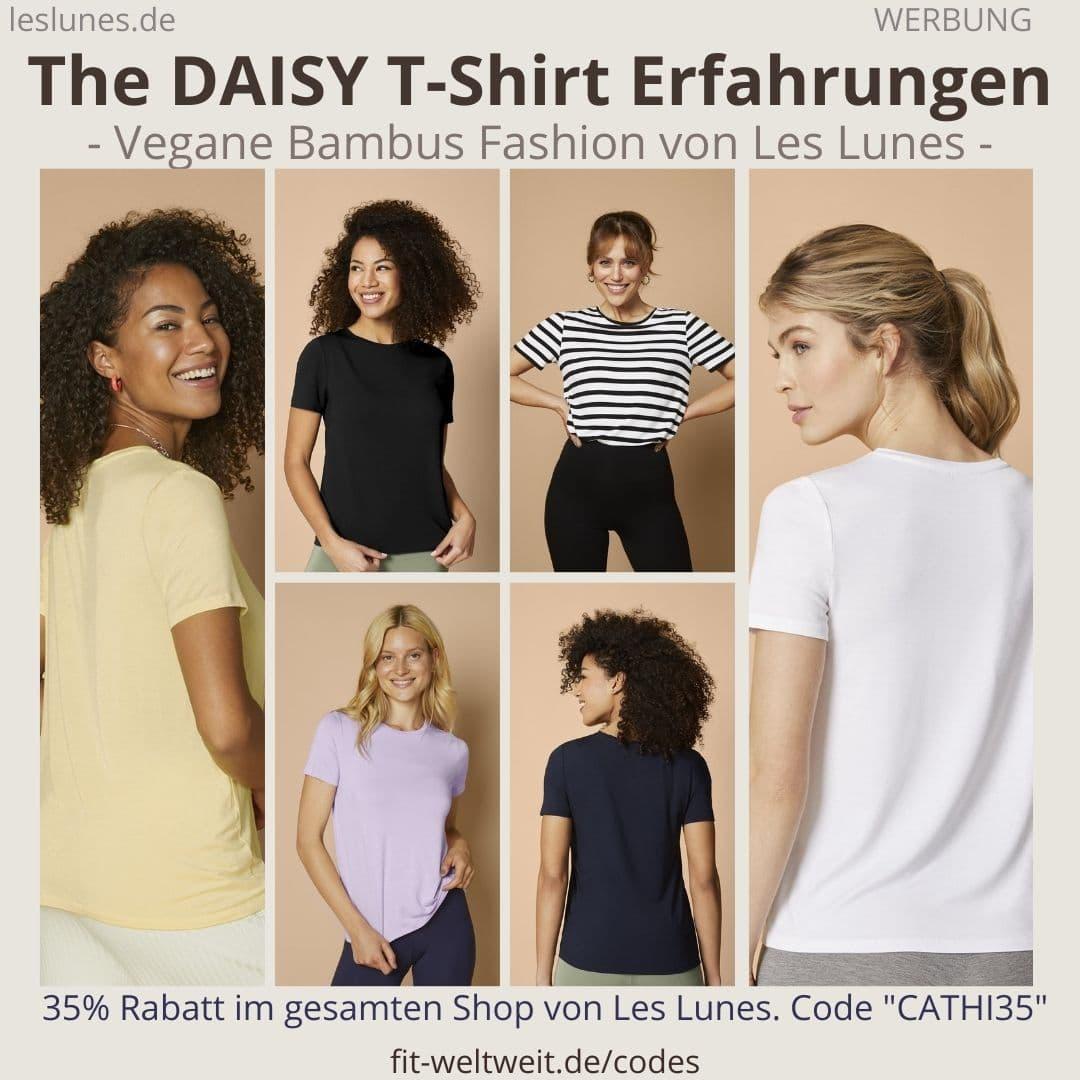 The Daisy T-Shirt LES LUNES ERFAHRUNGEN Stoff Passform Größe Retoure