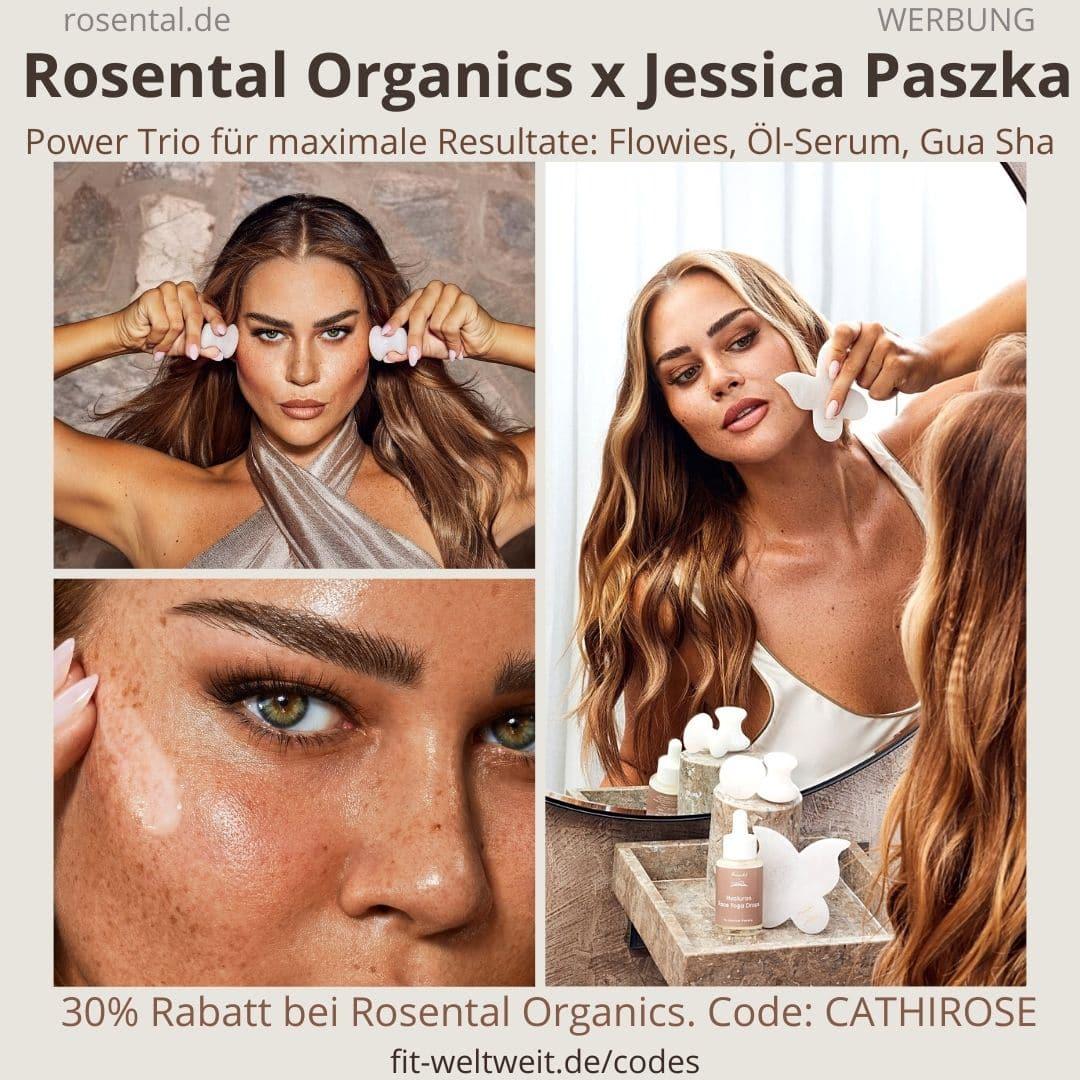 JESSICA PASZKA ROSENTAL ORGANICS CoCretaion - Erfahrungen Butterfly Gua Sha, Eye Flowies Serum Öl Face Drops