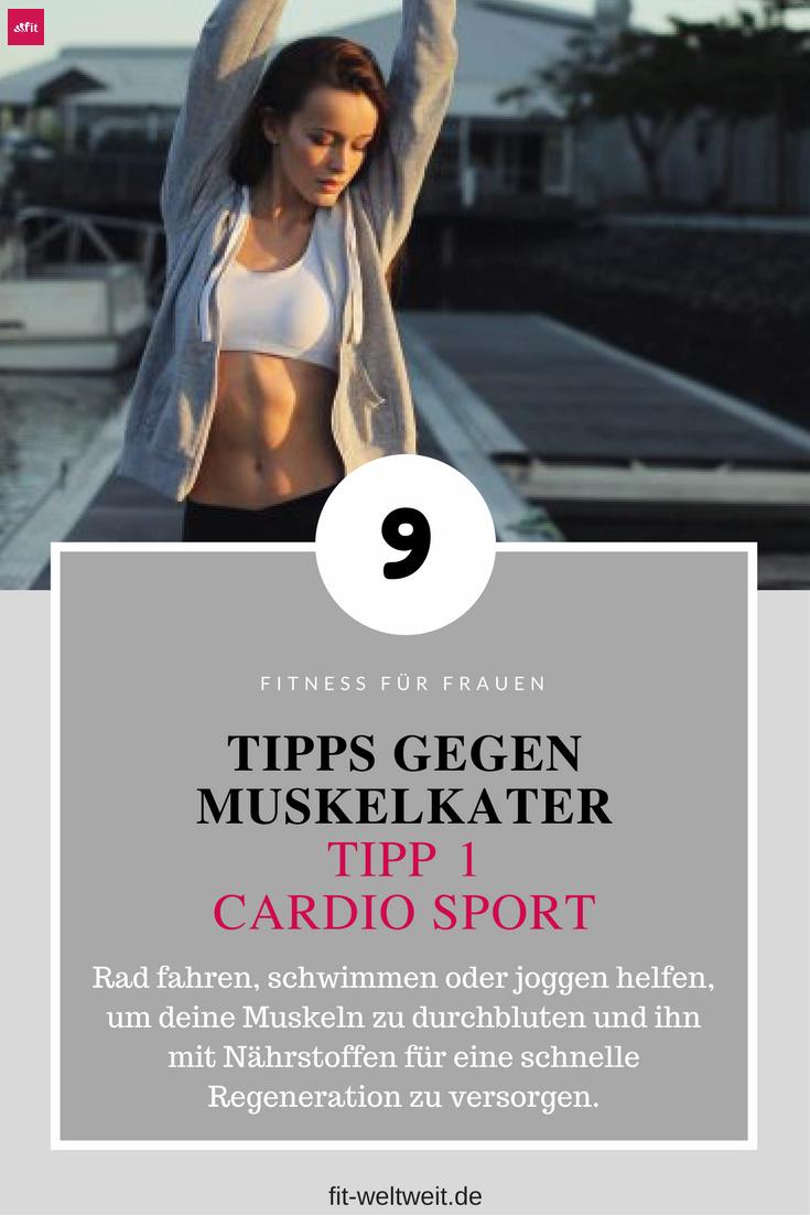 Muskelkater Muskelaufbau