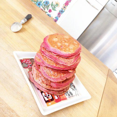 Pinke Barbie Protein Pancakes